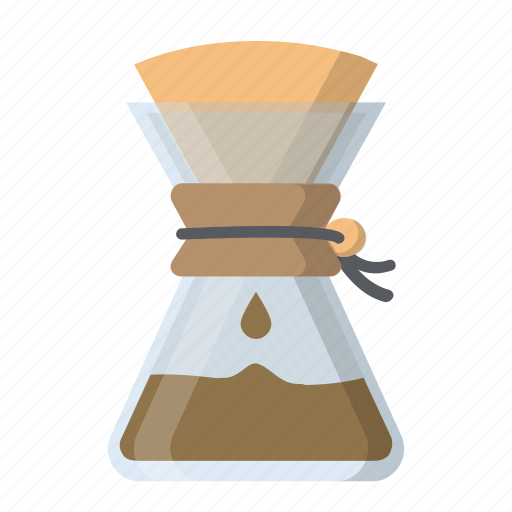 cafe, chemex, coffee, gourmet, pour over icon