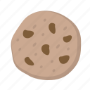chip, chocolate, cookie, snack, treat icon
