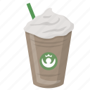 drink, espresso, frappuccino, latte, starbucks icon