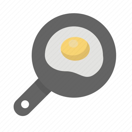 breakfast, brunch, cook, egg, fried, frying, pan icon