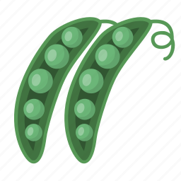 beans, greenbeans, healthy, organic, vegetable icon