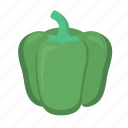 food, green, pepper icon