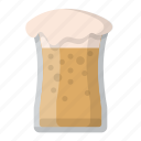 drink, beer, glass, booze, brew, brewery, pint icon