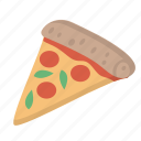food, pizza, slice, snack, tasty icon