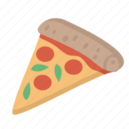 food, pizza, slice, snack, tasty icon