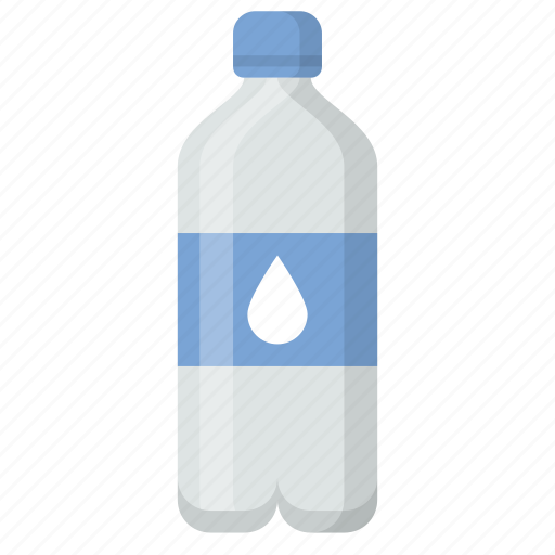 bottle, drink, hydrate, plastic, thirst, water icon