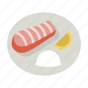 cod, dinner, fish, meal, salmon, seafood, tilapia icon