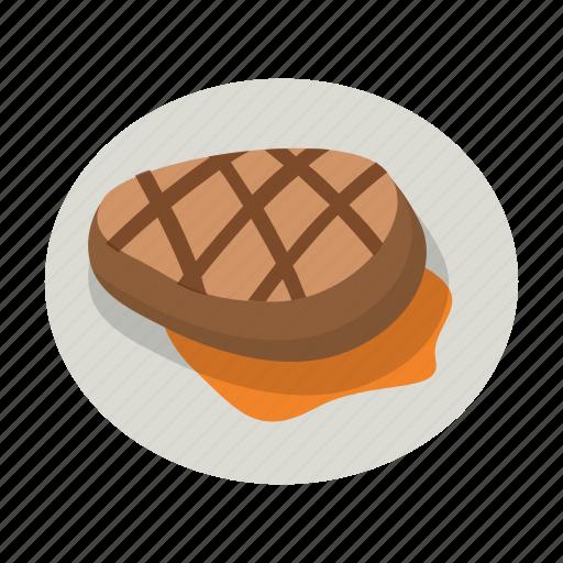 beef, dinner, meal, meat, pork, steak, tenderloin icon