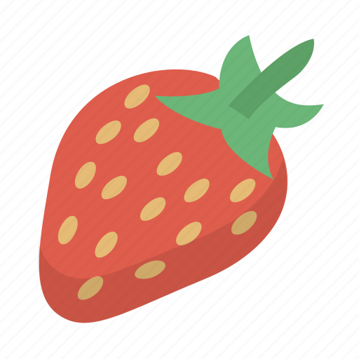 berry, fruit, healthy, organic, strawberry icon