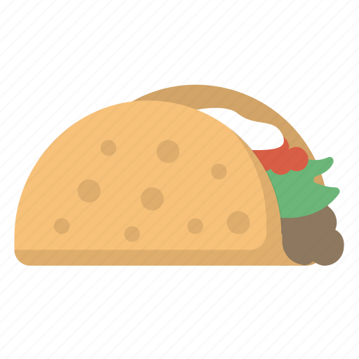 burrito, food, mexican, mexico, street, taco icon