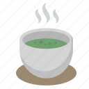 caffeine, cup, drink, green, matcha, tea, zen icon
