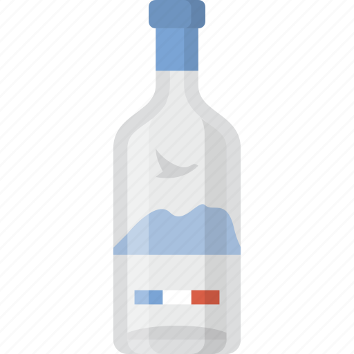 alcohol, bottle, grey goose, liquor, party, service, vodka icon