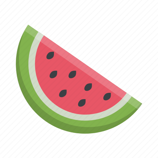 food, fruit, slice, summer, watermelon icon