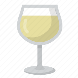 beverage, drink, gathering, glass, socialize, white, wine icon