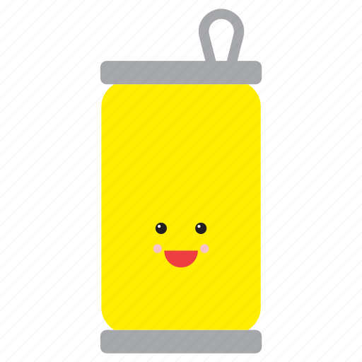 drink, emoji, emoticon, happy, lemon, smiley, soda icon