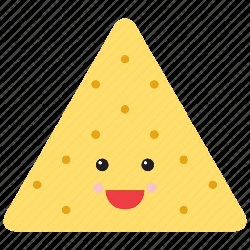 emoji, emoticon, face, food, pasty, pie, smiley icon