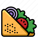 diet, dish, food, fruit, slim icon