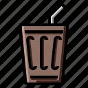 coca, coke, cola, cold, drink, soda icon