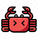 crab, gourmet, lobster, seafood, shellfish icon