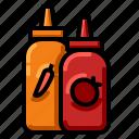 cuisine, food, gourmet, sauce icon