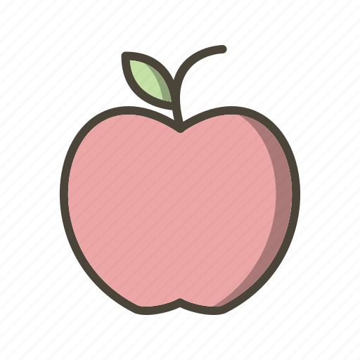 apple, fruit, healthy icon