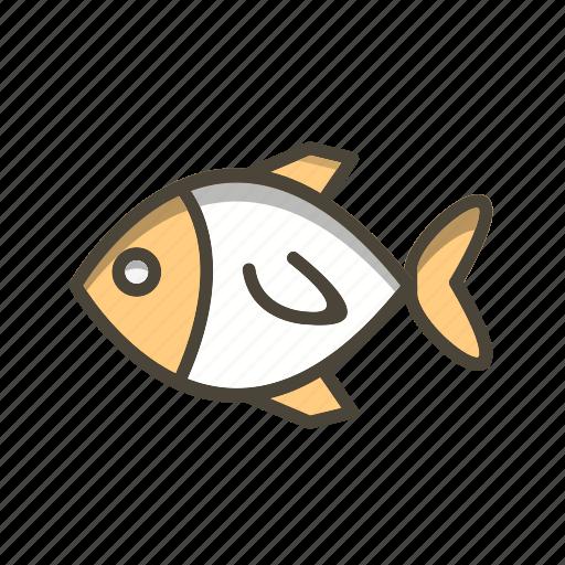 fish, sea, snapper icon