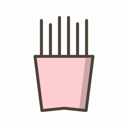 chips, finger chips, french fries icon