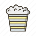 corn, fast food, snack icon