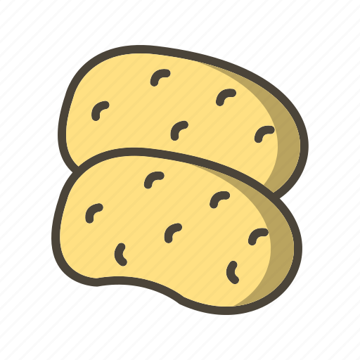 food, potato, vegetable icon