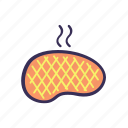 beef, filled, food, meal icon