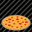 dessert, food, itali, pizza icon