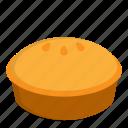 food, meal, pie, pie cake