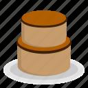 birthday cake, cake, food, meal icon