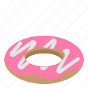 dessert, donut, food, meal, sweet icon