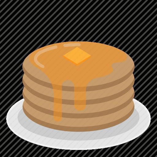 Cake, dessert, meal, pancake, sweet icon - Download on Iconfinder