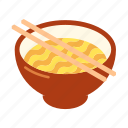 asian, chinese, cuisine, fast food, food, lunch, noodle icon