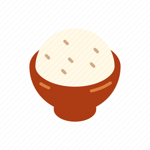 Asian, bowl, food, grain, meal, rice icon - Download on Iconfinder