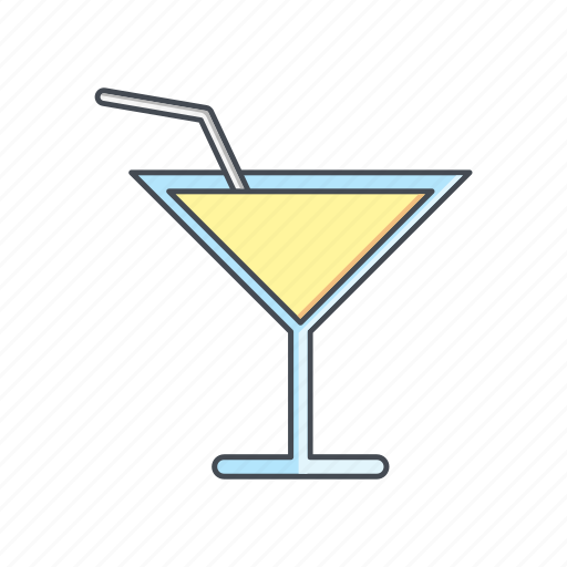 cocktail, glass, juice icon