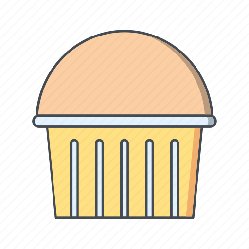 cup cake, cupcake, muffin icon