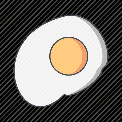 breakfast, egg, fried icon