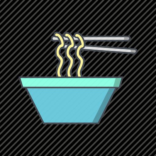 noodle, noodles, spaghetti icon