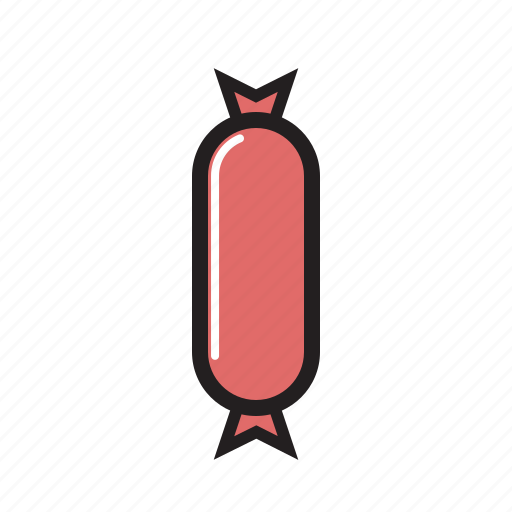 food, hot, meat, sausage, sausage icon icon
