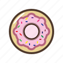 desert, donut, food, sweet