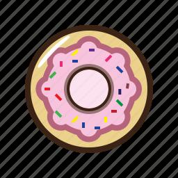desert, donut, food, sweet icon