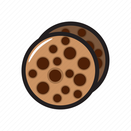 bite, cookie, cookie icon, food, sweet icon