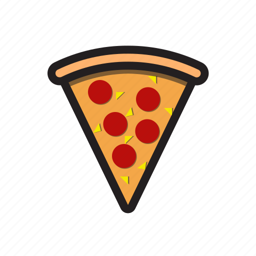 eating, fast food, fast food icon, food, meal, slice icon icon