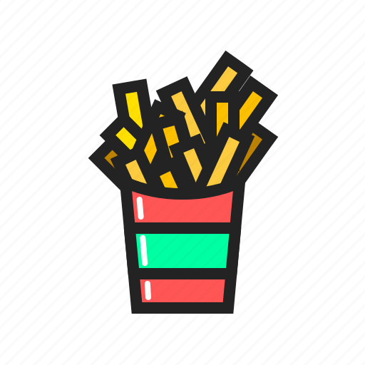 Fast, food, french, fries, meal icon icon - Download on Iconfinder