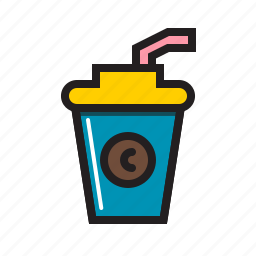coffee, cup, drink, food, starbucks icon icon