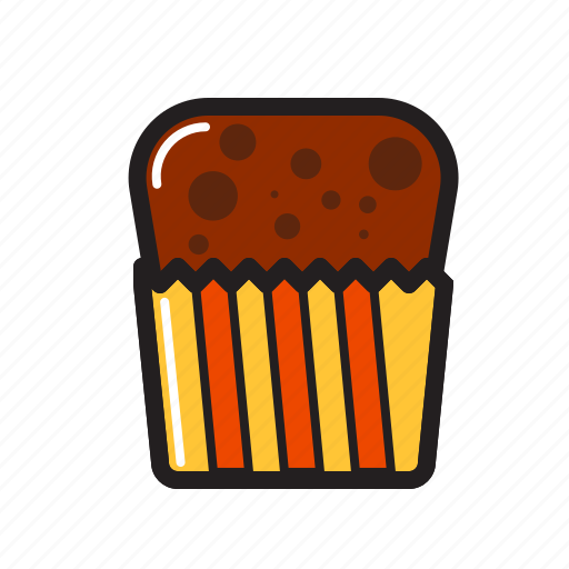 birthday, cup, cup cake, food, food icon icon