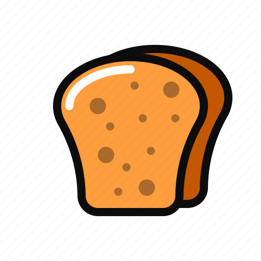 bakery, breakfast, pastry icon, sandwich, toast icon